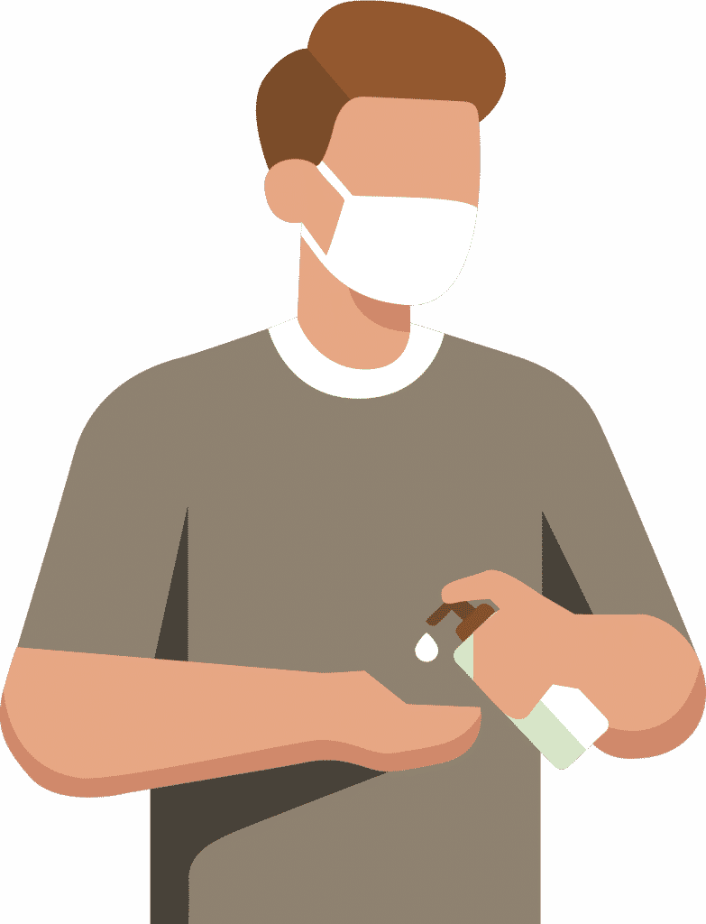 Persona mesures sanitaires platoburo
